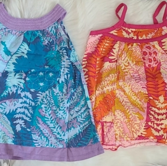 Lot of two The Children's Place baby dresses 6-9mo